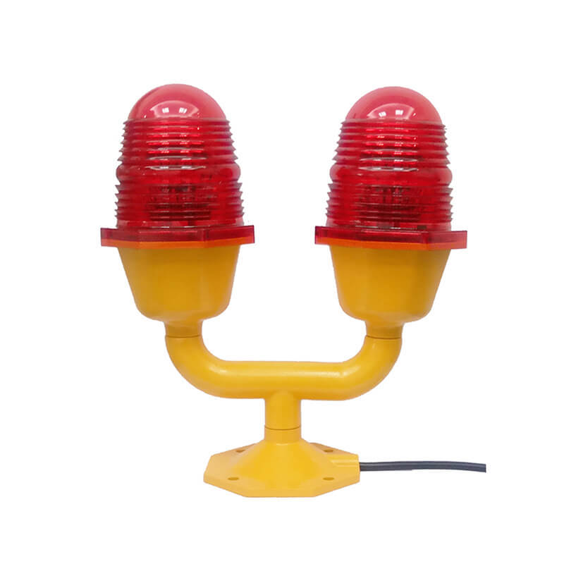 Aviation Obstruction Light Low-intensity Type B Double LED ICAO Certified CS-810/D