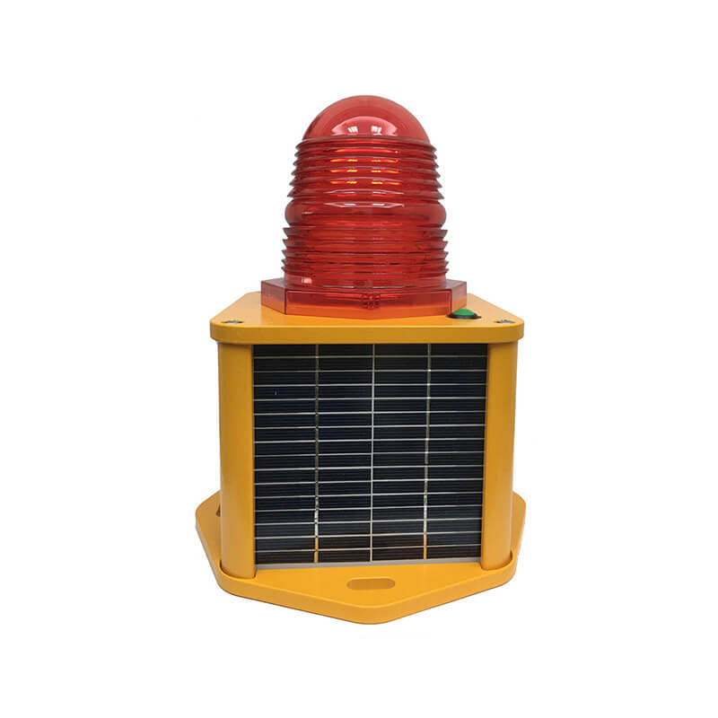 Solar Aviation Obstruction Light Low-intensity Type B LED ICAO Certified CS-810/S