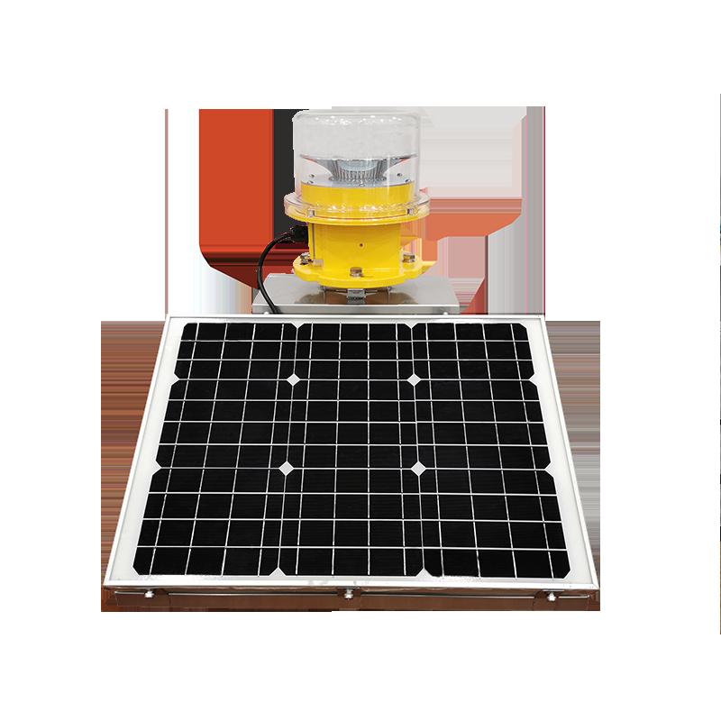 Solar Aviation Obstruction Light Medium-intensity Type B LED ICAO Certified CS-864/S